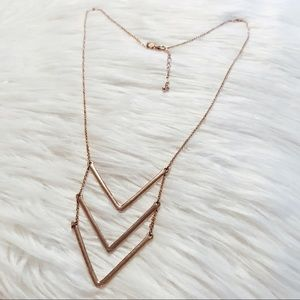 Nordstrom rose gold necklace